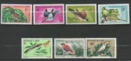 "Niger YT 238 à 243A "" Oiseaux "" 1970-72 Neuf** - Niger (1960-...)"