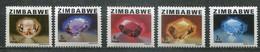 Simbabwe Zimbabwe Mi# 227-31  Postfrisch/MNH - Gemstones - Zimbabwe (1980-...)