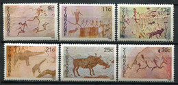 Simbabwe Zimbabwe Mi# 259-64 Postfrisch/MNH - Fauna -  Rock Paintings, Rock Art - Zimbabwe (1980-...)