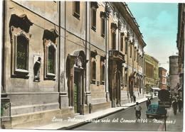 K4191 Lecce - Palazzo Carafa Sede Del Comune - Auto Cars Voitures / Viaggiata 1959 - Lecce
