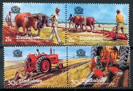 Simbabwe Zimbabwe Mi# 276-9 Postfrisch/MNH - Farming Competition - Zimbabwe (1980-...)