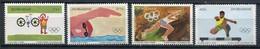 Simbabwe Zimbabwe Mi# 289-92 Postfrisch/MNH - Olympic Games Los Angeles 1984 - Zimbabwe (1980-...)