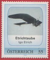 ÖSTERREICH / PM Etrichtaube - Igo Etrich / Postfrisch / ** / MNH - Private Stamps