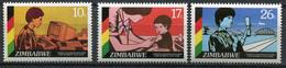 Simbabwe Zimbabwe Mi# 335-7 Postfrisch/MNH - Woman Rights Decade - Zimbabwe (1980-...)
