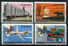 Simbabwe Zimbabwe Mi# 340-3 Postfrisch/MNH - SADCC - Zimbabwe (1980-...)