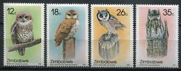 Simbabwe Zimbabwe Mi# 360-3 Postfrisch/MNH - Fauna Birds - Zimbabwe (1980-...)