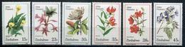 Simbabwe Zimbabwe Mi# 400-5 Postfrisch/MNH - Flora, Wild Flowers - Zimbabwe (1980-...)