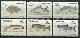 Simbabwe Zimbabwe Mi# 406-11 Postfrisch/MNH - Fauna Fish - Zimbabwe (1980-...)
