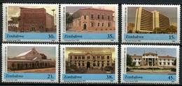 Simbabwe Zimbabwe Mi# 442-7 Postfrisch/MNH - Buildings , City Jubilee - Zimbabwe (1980-...)