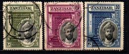ZANZIBAR - 1936 - 25° ANNIVERSARIO DEL REGNO DEL SULTANO KHALIFA BIN HARUB - USATI - Zanzibar (...-1963)