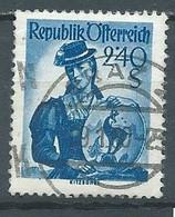 Autriche YT N°804 Kitzbuhel Oblitéré ° - 1945-60 Used