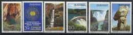 Simbabwe Zimbabwe Mi# 466-71 Postfrisch/MNH - Commonwealth Meeting, Waterfall, Dams - Zimbabwe (1980-...)