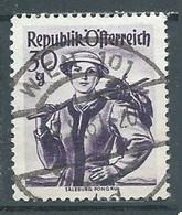 Autriche YT N°886 Salzburg Pongau Oblitéré ° - 1945-60 Used