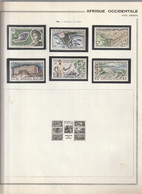 AOF 1958 N°22 à 27 Poste Aérienne Neuf* - Neufs