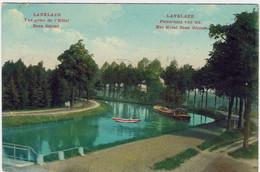 DILSEN-STOKKEM  -   LANKLAER  - Le Canal  -  Panorama Van Uit   Het Hotel Beau Séjour  -  1912 - Bilzen