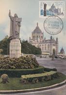 FRANCE, CARTE MAXIMUM, Basilique De Lisieux, Lisieux  24 Sept 1960 - 1960-69