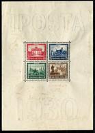 Deutsches Reich - Michel Block 1 IPOSTA Ungebr.*/MH - Blocks & Sheetlets