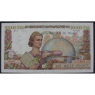 10000 Francs Génie Français 6.8.1953, B.5451, TTB - 10 000 F 1945-1956 ''Génie Français''