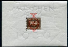 Deutsches Reich - Michel Block 10 Ungebr.*/MH - Blocks & Sheetlets
