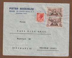 Italie Briefletter 1954 Mi.nr. 914  Marco Polo 700 Year - Otros