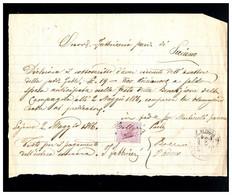 ITALIA - 1886   MARCA DA BOLLO - Fiscaux