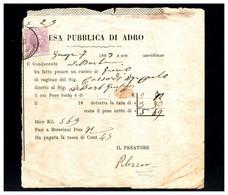 ITALIA - 1883   MARCA DA BOLLO - Fiscaux