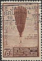BELGIUM 1932 Scientific Research Fund - 75c - Prof Piccard's Stratosphere Balloon F.N.R.S., 1931 FU - Usados