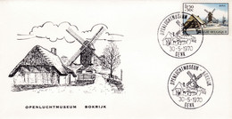Enveloppe 1532 Openluchtmuseum Bokrijk Genk Moulin - Lettres & Documents