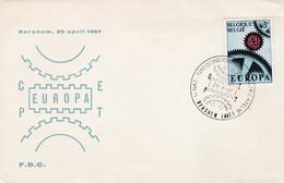 Enveloppe Europa 1415 Berchem - Lettres & Documents