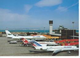 CPM - AEROPORT MARSEILLE-PROVENCE - Avion Air France -Air Algérie-Air Gabon - TBE - - Sin Clasificación