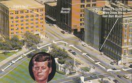 Dallas Texas - Assassination Site - John F. Kennedy - Unused - VG Condition - 2 Scans - Dallas