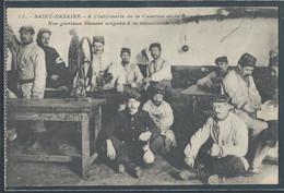 CPA 44 - Saint-Nazaire, à L'infirmerie De La Caserne De La Briandaise - Nos Glorieux Blessés Soignés à La Mécanothérapie - Saint Nazaire