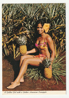Hawaiian PIN UP - Golden Girl - CPSM 1960/70s Grand Format Photographique - Pin-Ups