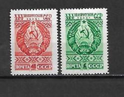 URSS - 1949 - N. 1303/04* (CATALOGO UNIFICATO) - Nuovi
