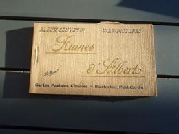 Carnet  De 20 Cpa - Album-souvenir War-Pictures Ruines D'Albert - Albert