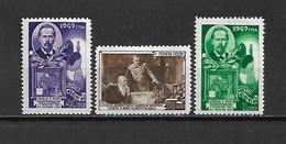URSS - 1949 - N. 1334/36* (CATALOGO UNIFICATO) - Nuovi