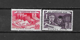 URSS - 1949 - N. 1337/38* (CATALOGO UNIFICATO) - Nuovi