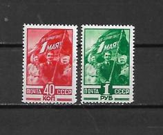 URSS - 1949 - N. 1339/40* (CATALOGO UNIFICATO) - Nuovi