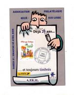 Carte Cachet Reze Anniversaire Association - Cachets Commémoratifs