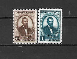 URSS - 1949 - N. 1387/88* (CATALOGO UNIFICATO) - Nuovi