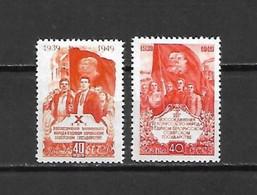 URSS - 1949 - N. 1430/31* (CATALOGO UNIFICATO) - Nuovi