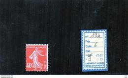 FRANCE LUXE ** - N° 194 - 1906-38 Semeuse Camée