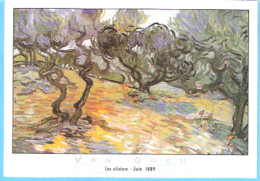 Peintre-Vincent Van Gogh (1853-1890)-Les Oliviers-Provence-Juin 1889-Edimbourg-Edinburg, National Gallery Of Scotland - Peintures & Tableaux