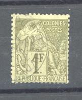 0co  455  -  Colonies Générales  :  Yv  59  (o)    Obl.  Porto Novo - Alphée Dubois