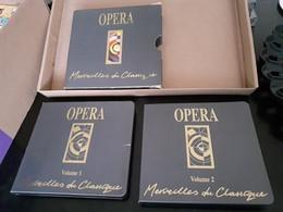 Cd Coffret Opéra Merveilles Du Classique ( 2 Cd ) Juste Le Coffret Abîmé - Opere