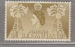 BERMUDA 1953 Elizabeth II MNH (**) Mi 130 #16998 - Bermuda