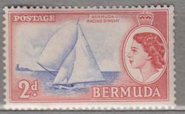 BERMUDA 1953 Elizabeth II Ship MNH (**) Mi 133 #16999 - Bermuda