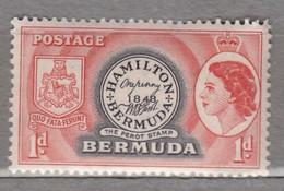 BERMUDA 1953 Elizabeth II Coat Of Arms MNH (**) Mi 131 #17000 - Bermuda
