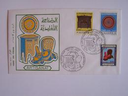 ALGERIE 28-6-1969 FDC ARTISANAT - Algeria (1962-...)