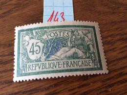 Type Merson N° 143 Neuf Sans Trace De Charnière - 1900-27 Merson